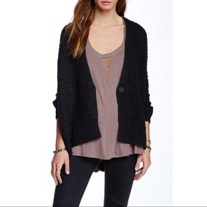 Free People Breeze Chunky Knit Cardigan